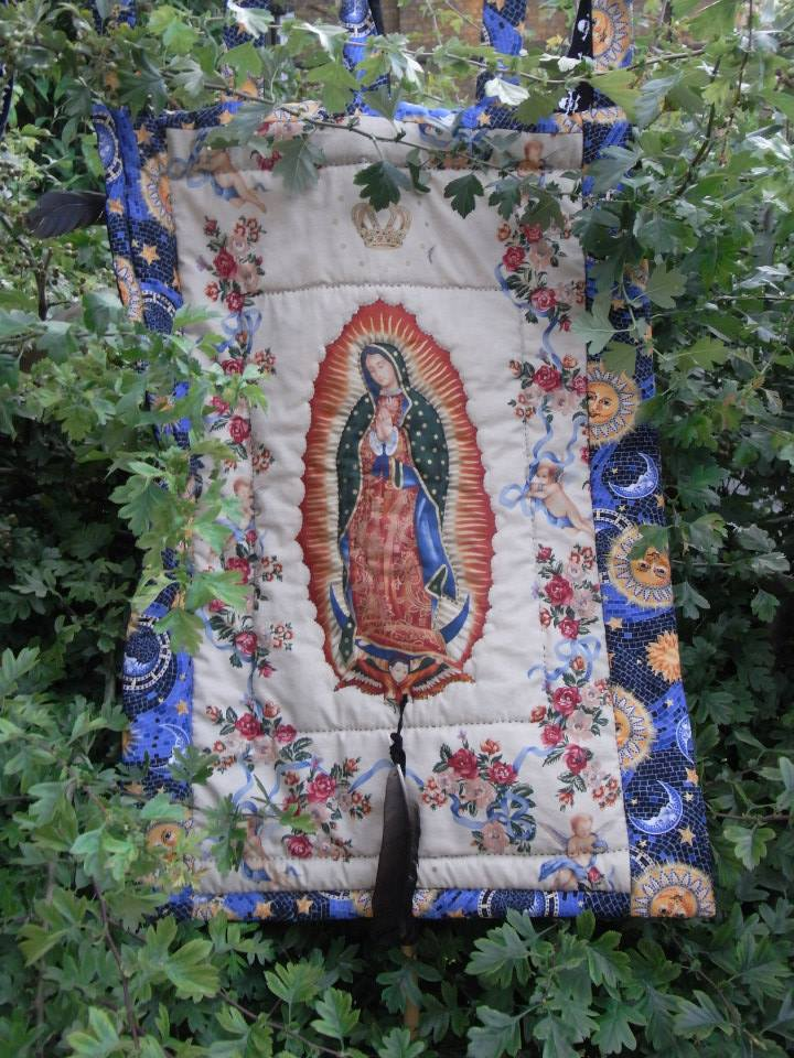 Our Lady of Crossbones. Banner by Jennifer Cooper. Photo (c) Katy Nicholls