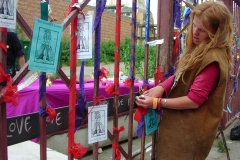 Rededication of Crossbones Gates, 2004. Photo by Katy Nicholls