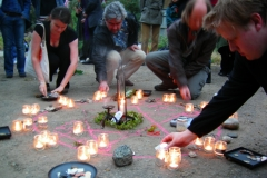The rededication of Crossbones, 23 April 2007