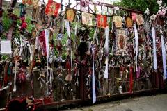 The shrine at thge Red Gates. Photo (c) Katy Nicholls