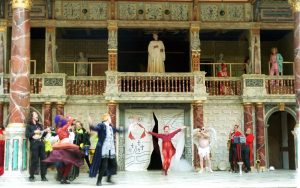 2 The Southwark Mysteries in Shakespeare's Globe 23 April 2000 - photo (c) Juliet Singer