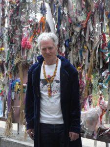 John Crow at Crossbones Gates - photo Jacqueline Woodward-Smith